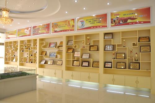 方烹饪学校 学校荣誉文化展厅 山东新东方烹饪学院院校动态高清图片