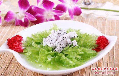 山东新东方烹饪学校--火龙凉瓜
