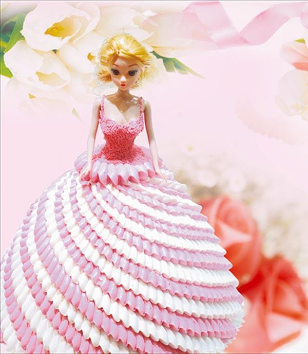 奶油公主蛋糕
