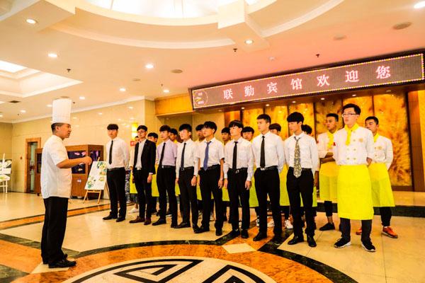 <b>【校企合作】山东新东方学子赴校企合作单位济南军区联勤宾馆参观学习</b>