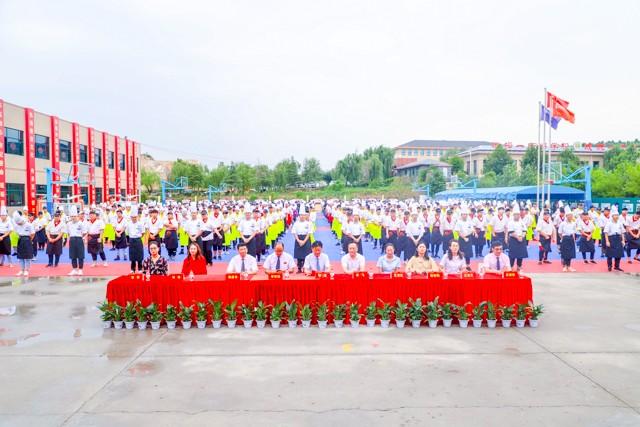 山东新东方与合作单位签约仪式