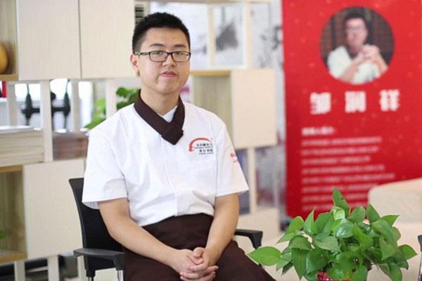 <b>【成功学子】邹润祥:20岁西餐创业,学习平台成就精彩人生</b>