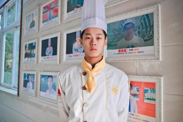 <b>【学子风采】杜善源:看好厨师行业的前景,我选择了学厨师!</b>