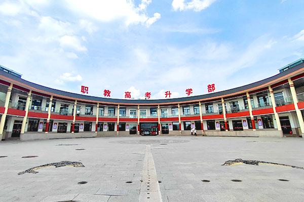 山东新东方校园夏季美景