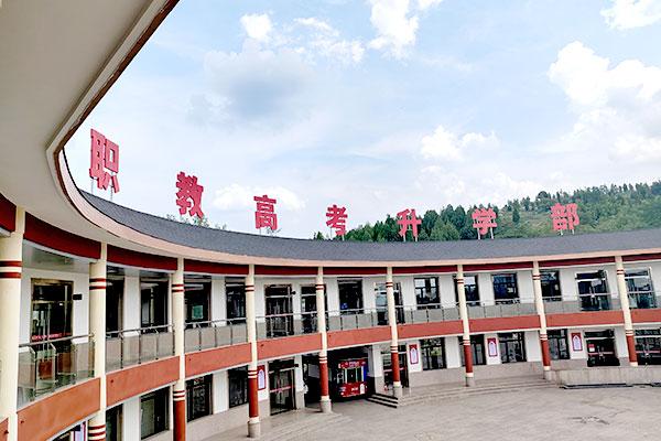 山东新东方校园秋季美景