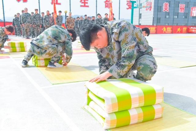 仲宫校区军训汇演