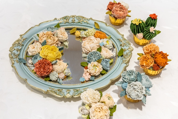 韩式裱花作品