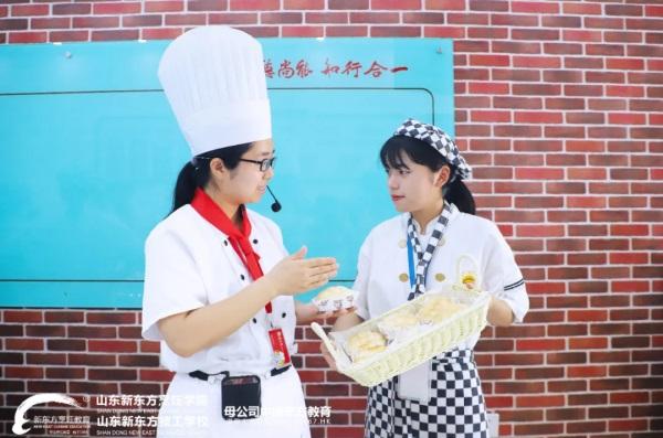 【新生故事】刘春乐:我来自菏泽,中考择校我选择在山东新东方实现我的西点梦!