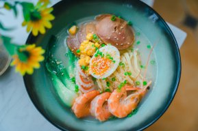 西餐作品-日式海鲜面